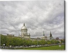 A Bonsecours Day  Acrylic Print