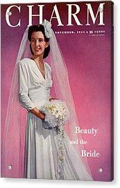 A Bridal Charm Cover Acrylic Print by Elliot Clarke