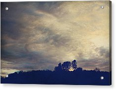 A Calm Sets In Acrylic Print by Laurie Search