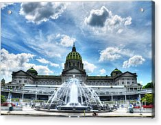 A Capitol Day 2 Acrylic Print