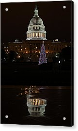A Capitol Reflection Acrylic Print