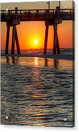 A Captive Sunrise Acrylic Print by Tim Stanley