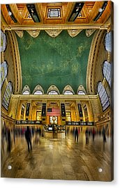 A Central View Acrylic Print by Susan Candelario