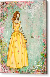 A Charmed Life Acrylic Print by Janelle Nichol