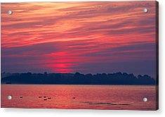 A Chesapeake Bay Sunrise Acrylic Print