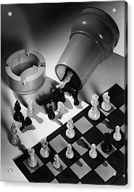 A Chess Set Acrylic Print
