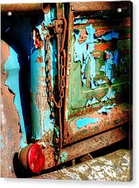 A Chevy Tailgate Acrylic Print