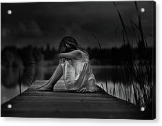 A Childhood Acrylic Print by Christoph Hessel