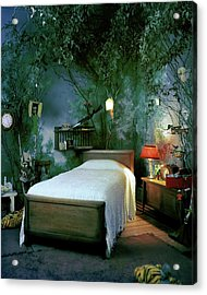 A Child's Bedroom Designed By William Riva Acrylic Print