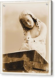 Acrylic Print featuring the photograph A Child's Prayer by Nadalyn Larsen