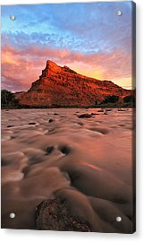 Acrylic Print featuring the photograph A Chocolate Milk River by Ronda Kimbrow