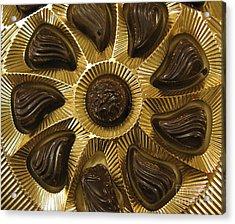 A Chocolate Sun Acrylic Print by Ausra Huntington nee Paulauskaite