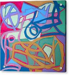 A Chord Acrylic Print by Diane Fine