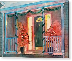 A Christmas At Home Acrylic Print