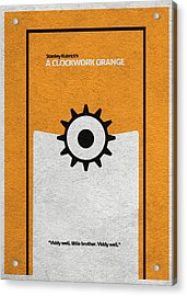 A Clockwork Orange Acrylic Print by Ayse Deniz