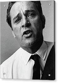 A Close-up Of Richard Burton Acrylic Print