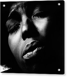 A Close-up Of Roberta Flack Acrylic Print by Jack Robinson