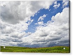 A Cloudy Day Acrylic Print