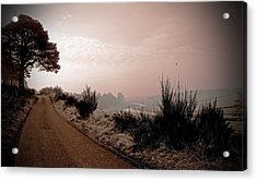 Acrylic Print featuring the photograph A Cold And Frosty Morning by Liz  Alderdice