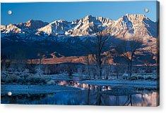 A Cold Dawn Light Acrylic Print