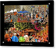 A Collage Of San Francisco Acrylic Print by Joseph Coulombe