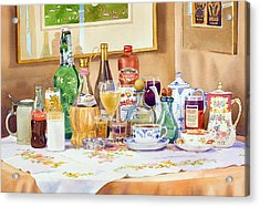 A Collection Of Drinks Acrylic Print