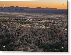 A Colorful Desert Sunset Acrylic Print