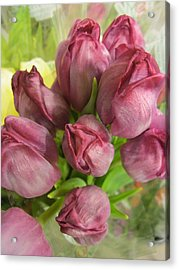 A Cool Bouquet  Acrylic Print