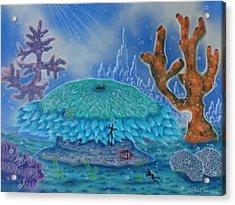 A Coral Kingdom Acrylic Print