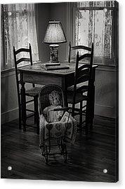 A Corner In Time Acrylic Print by Chrystyne Novack