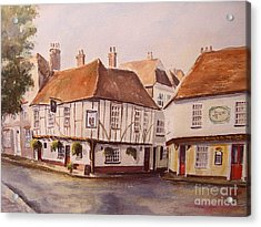 Acrylic Print featuring the painting A Corner Of Sandwich by Beatrice Cloake