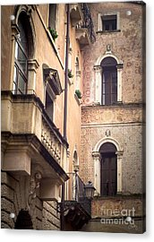 A Corner Of Vicenza Italy Acrylic Print