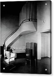 A Corner Staircase Acrylic Print