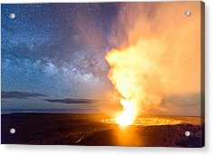 A Cosmic Fire Acrylic Print