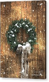 A Country Christmas Acrylic Print