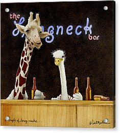 A Couple Of Long-necks... Acrylic Print