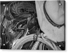A Cowboy's Gear Acrylic Print