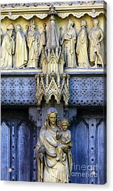 A Crown For Mary And Jesus Acrylic Print