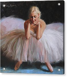 A Dancer's Ode To Marilyn Acrylic Print