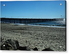 Acrylic Print featuring the photograph A Day At The Beach by Michael Gordon