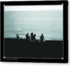Acrylic Print featuring the photograph A Day At The Beach by Pedro L Gili