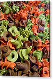 A Day At The Market #21 Acrylic Print by Robert ONeil