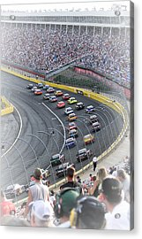 A Day At The Racetrack Acrylic Print