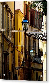 A Day In Florence Acrylic Print by Ira Shander