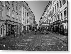 A Day In Ljubljana Acrylic Print