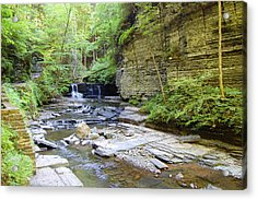A Day In The Glen Acrylic Print