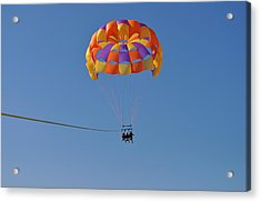 A Day In The Sky Acrylic Print by Amanda Just