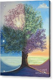 A Day In The Tree Of Life Acrylic Print