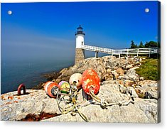 A Day Off Acrylic Print by Adam Jewell