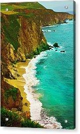 A Day On The Ocean Acrylic Print